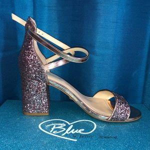 Blush Glittee Betsy Johnson Heels